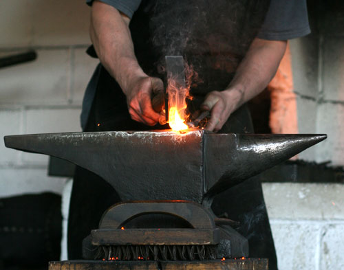 A Day In The Life, Michael Budd, Blacksmith & Sculptor..