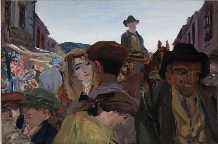 A Fair Day, Mayo painted by Yeats is the most expensive Irish painting ever sold at €1 million in 2011