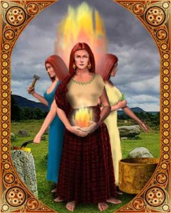 Brigit triple goddess