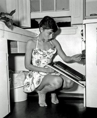 audrey cooking