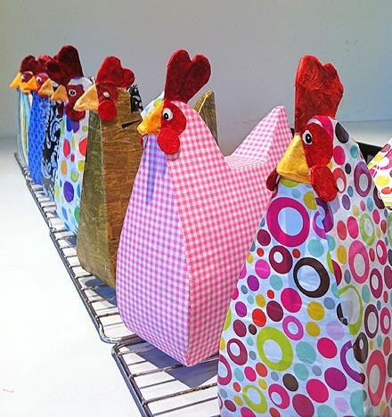 Handbag Hens