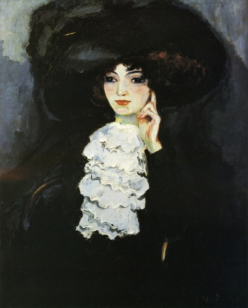Woman with Frill 1911