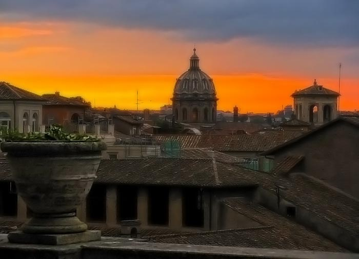 Rooftops-Roman-Sunset