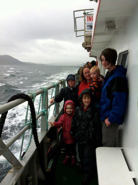 Emily family at sea