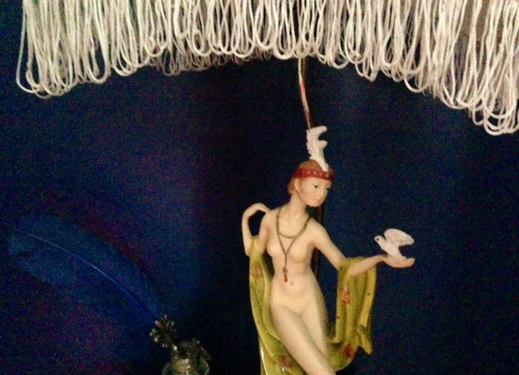 a blog lamp