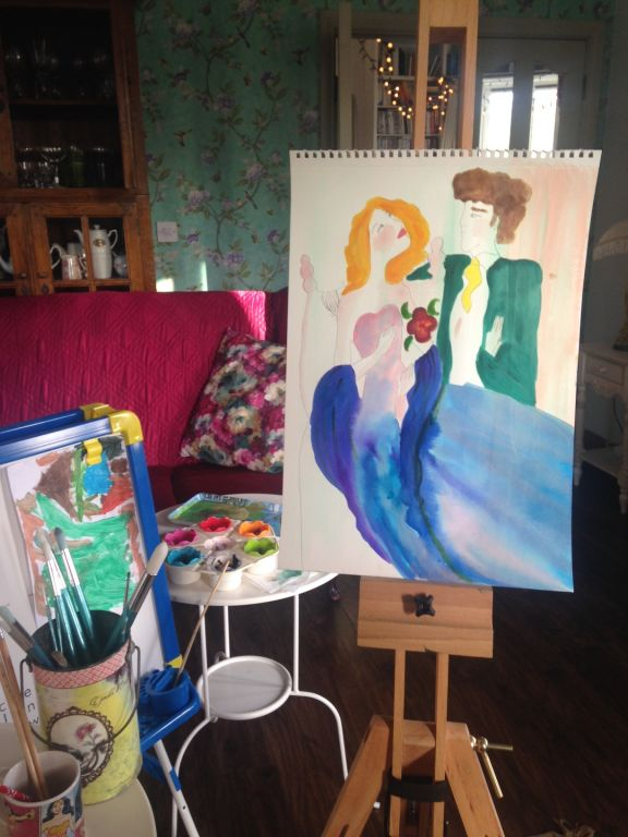 blog art easel