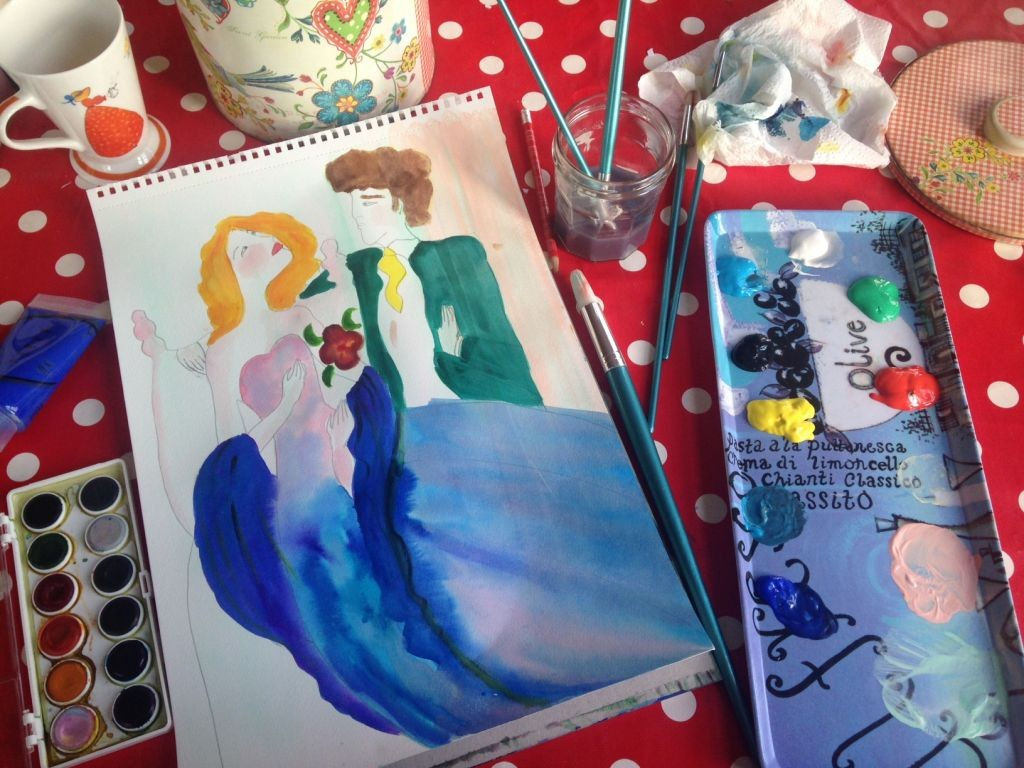 blog art table