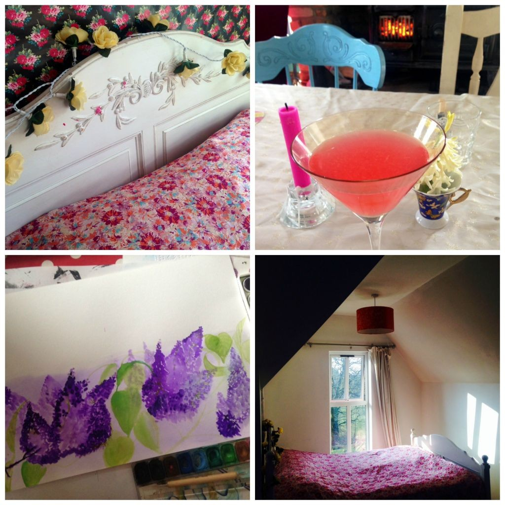 bed nook collage