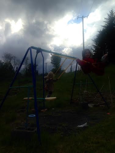 grey swing
