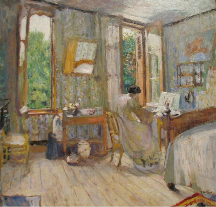 Painting by Edouard Vuillard