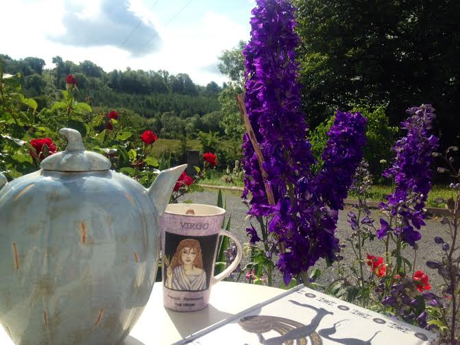 tea and flowers 2