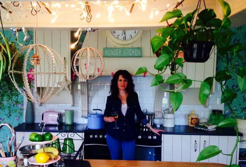 jane in kitchen