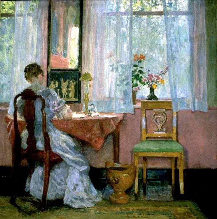 writing by gari melchers