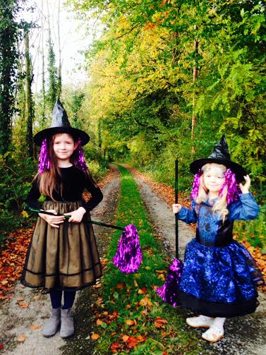 little witches that curious love of green