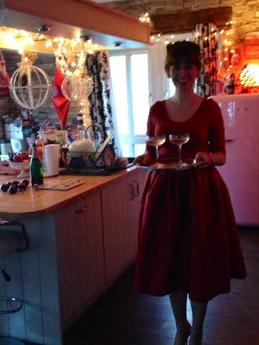 Christmas Kitchen - Home of Jane Gilheaney Barry