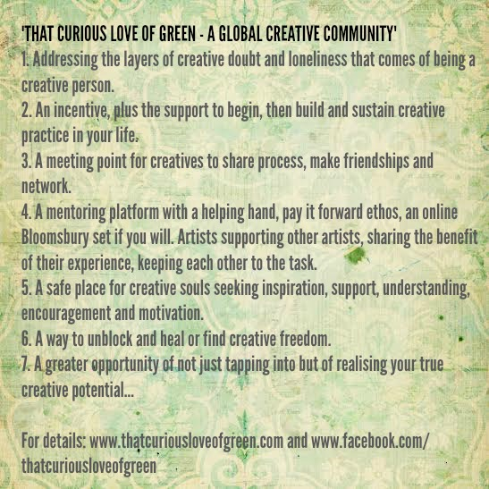 That Curious Love of Green – A New Global Creative Community