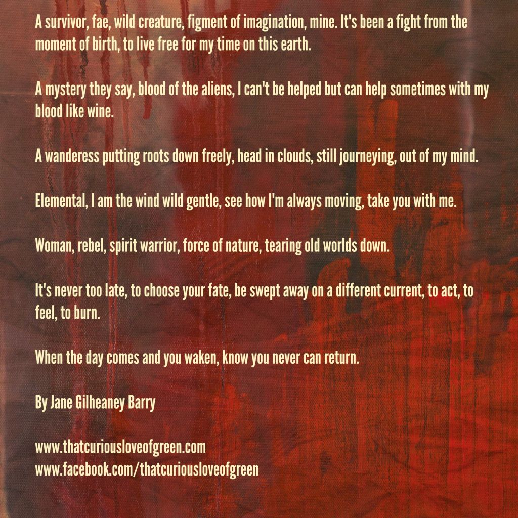 Janes poems red