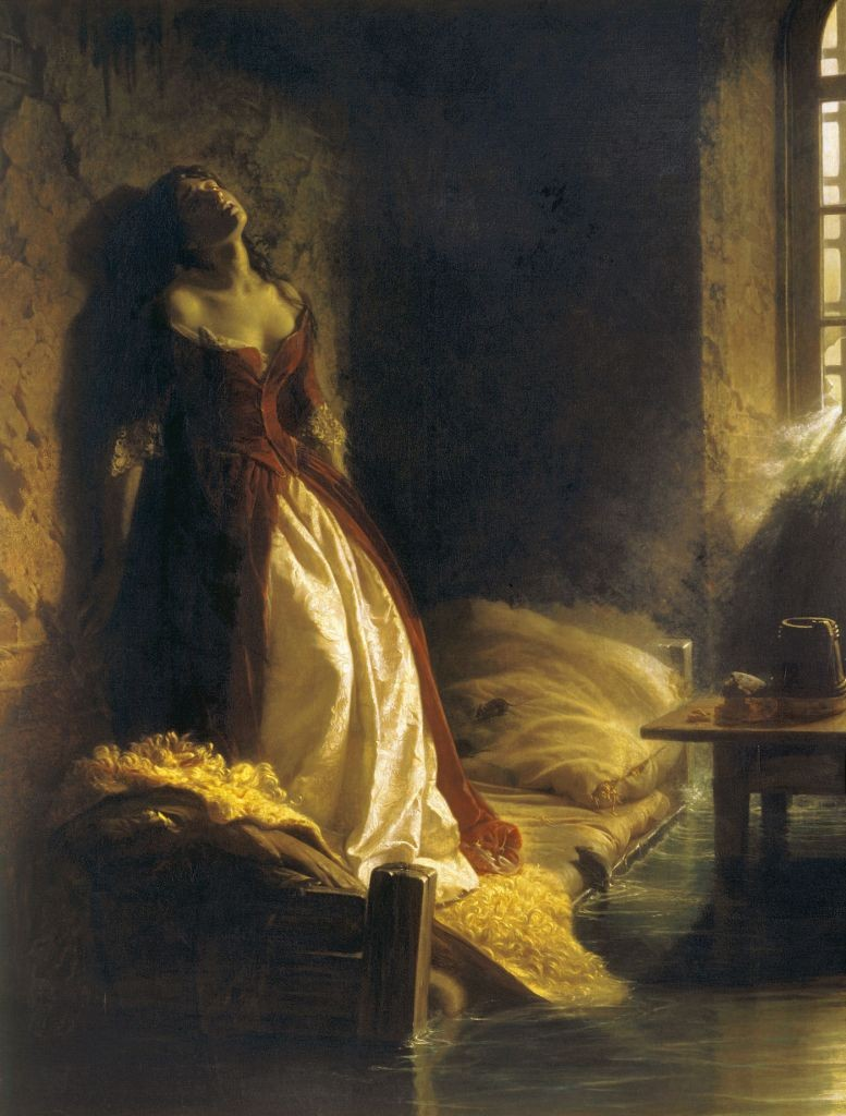 Princess Tarakanova by Konstantin Flavitsky