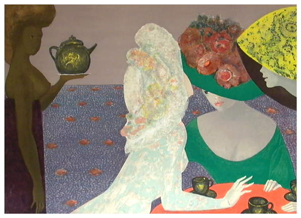 'Parques Hotel' by Leonor Fini 1960's
