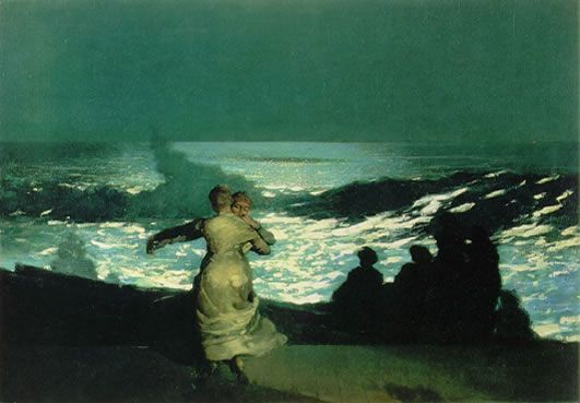 Winslow Homer, Summer Night, 1890, Musee d'Orsay