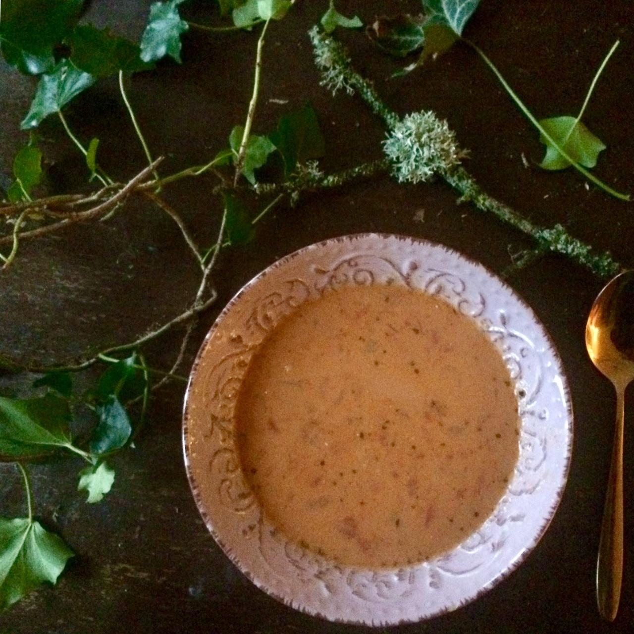 Creamy Tomato & Coconut Soup