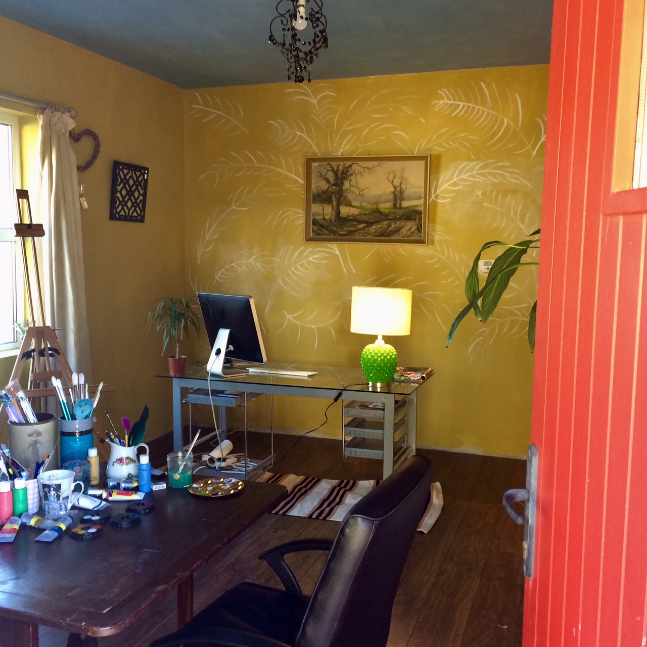 Home Art Studio Reveal…
