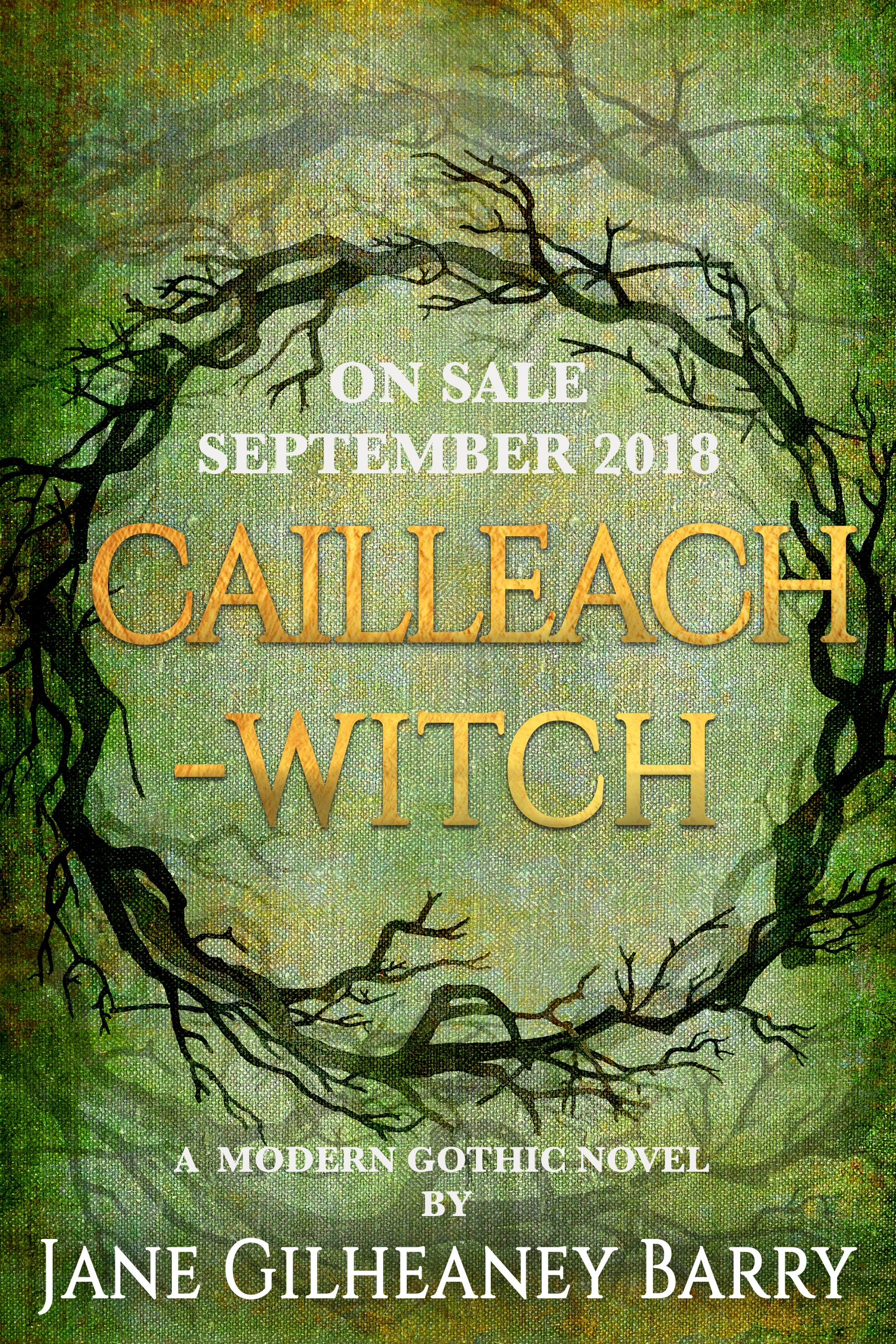 It's Here… Final Cover Design for #Cailleach #Witch #ANovel