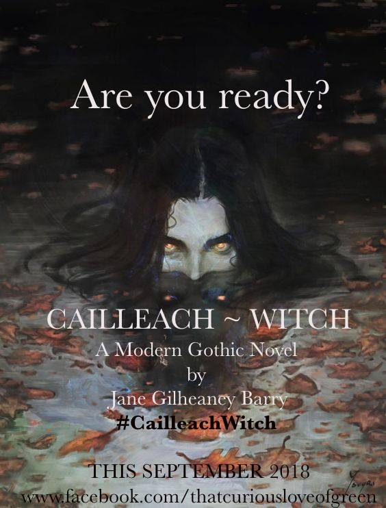 Pre-Order & Release Dates for My Novel #CailleachWitch