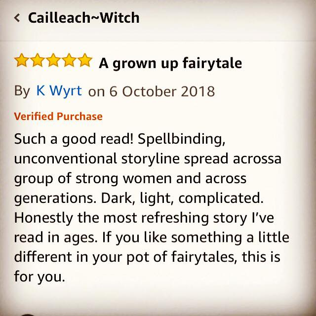 Five Star Reviews For #CailleachWitch